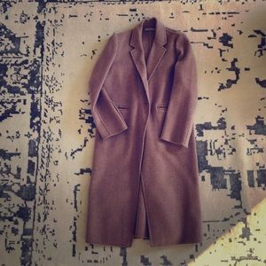 Vince coat Nude Large New $895